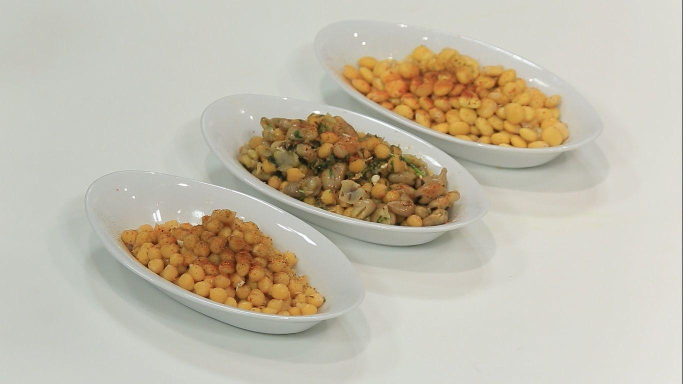 حمص و فول نابت متقلى مع الترمس Food Vegetables Beans