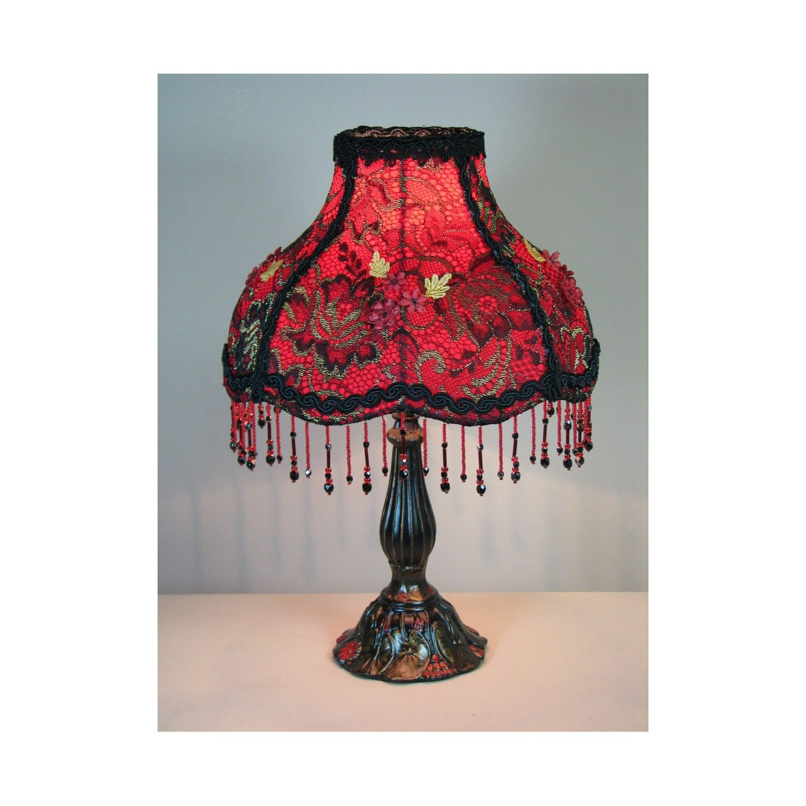 victorian styletable lamp with victorian lamp shade passion 39 s corset. Black Bedroom Furniture Sets. Home Design Ideas