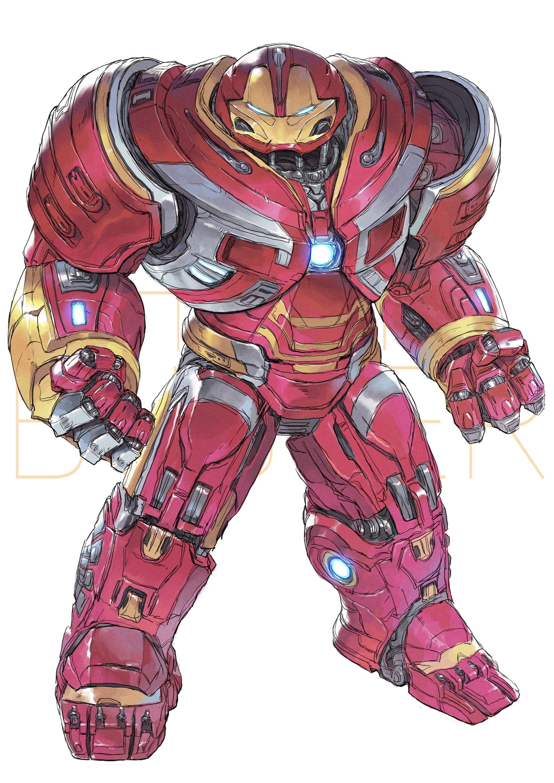 Artstation Hulkbuster Devon Pan Hulkbuster Armor Hulkbuster Iron Man Hulkbuster