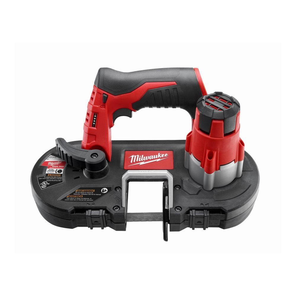 Milwaukee M12 12 Volt Lithium Ion Cordless Sub Compact Band Saw Tool Only 2429 20 Portable Band Saw Cordless Band Saw Band Saw Reviews
