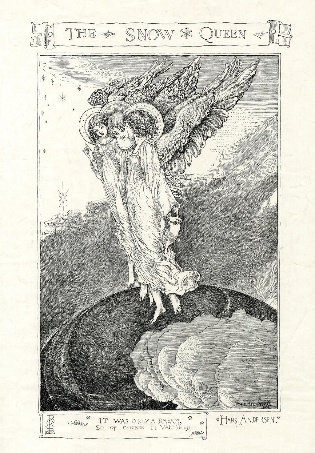 Born #otd in 1805: author Hans Christian Andersen. Here's an illustration of his 'Snow Queen' http://ow.ly/L10tf