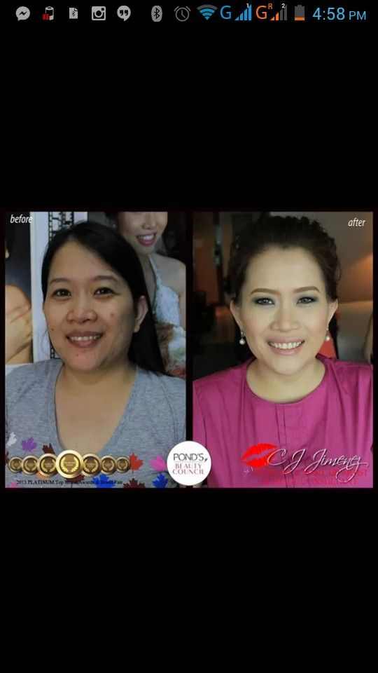 """My sister from another mother, Ria followed all my advices to the dot. She lost weight just from the time of her prenup which was just a few weeks from her wedding day. Ria was thankful as she thought it was too late for her. She is lucky to have met the man of her dreams, Nelson. But I told her they are both lucky with each other. Love yah Ria! Her feedback to us """"Hi CJ, sisteret! Thank you for making me look and feel beautiful on my wedding day. I am like a princess as my relatives…"""