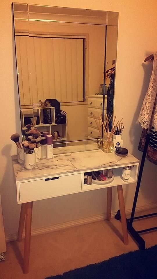 Vanity Table Kmart Hack Kmart Pinterest Vanity