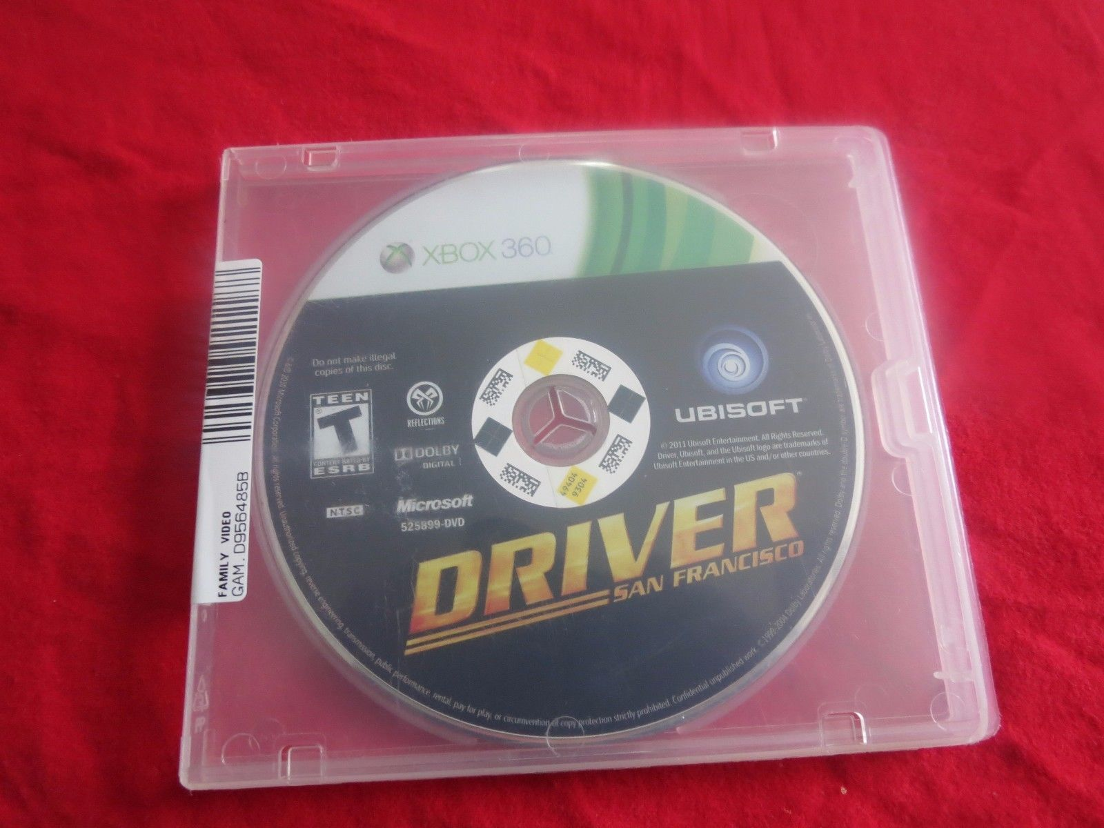 Driver San Francisco Xbox 360 In Very Good Condition Ebay