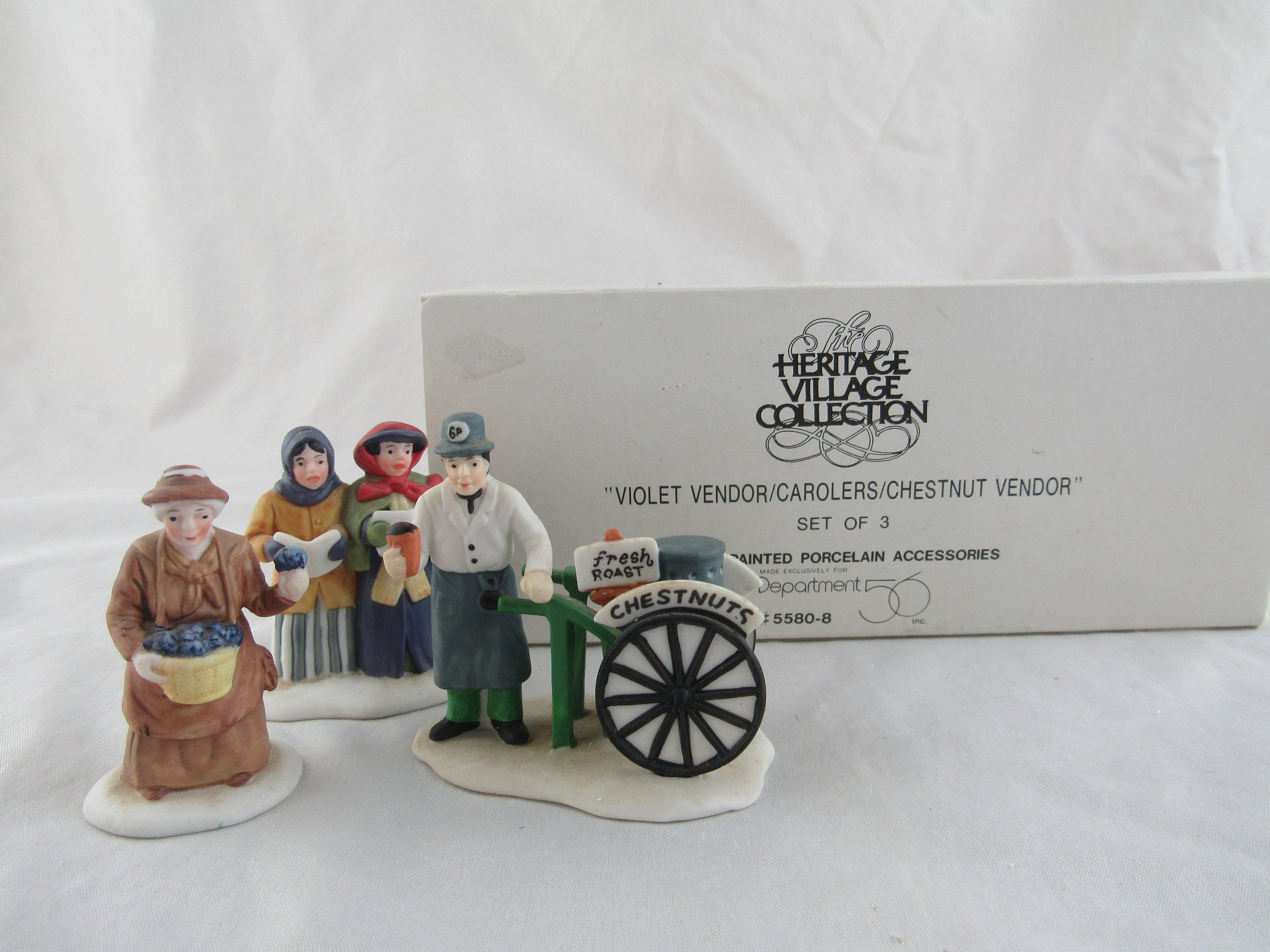 56 ~Heritage Village Collection ~ AMISH FAMILY ~ Handpainted ~ Very NICE Dept