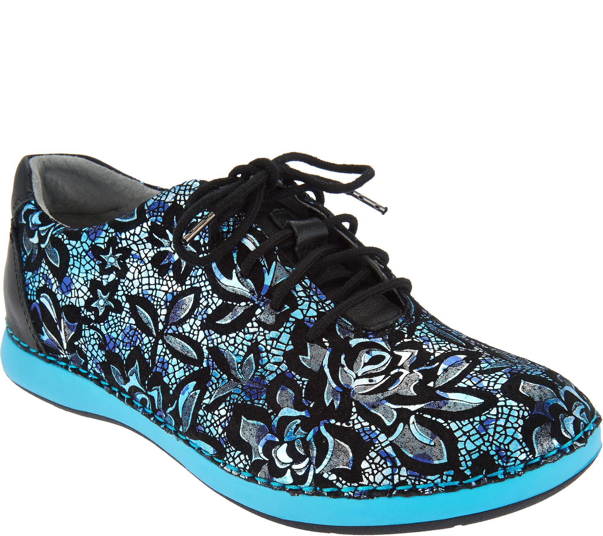 Alegria Leather Lace-up Shoes - Essence