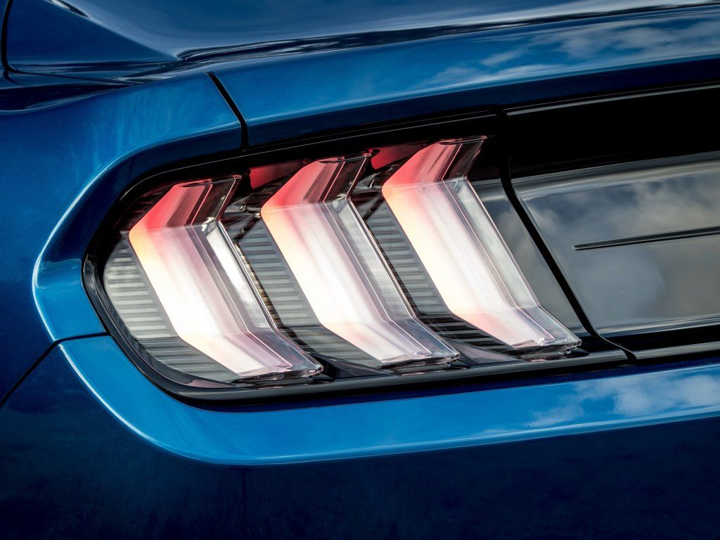 Ford Mustang Led Taillights Wallpaper Concept Cars Tail Light