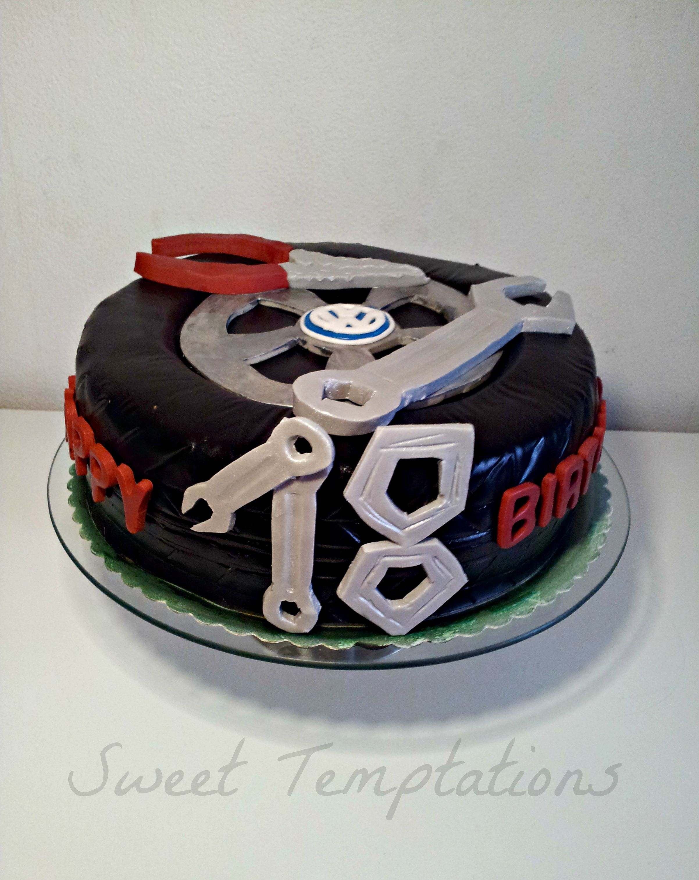 Car Mechanic Cake Birthday Cake For A Young Man Cake Is