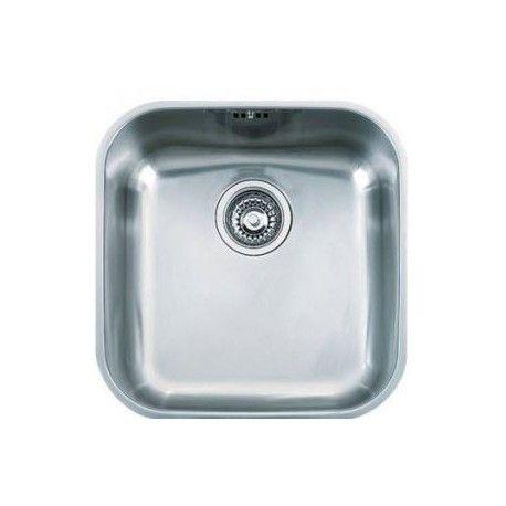 Fregadero acero inox klassica 4040 fregaderos de cocina - Fregaderos de acero inoxidable ...