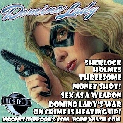 Domino lady sex as a weapon — 12