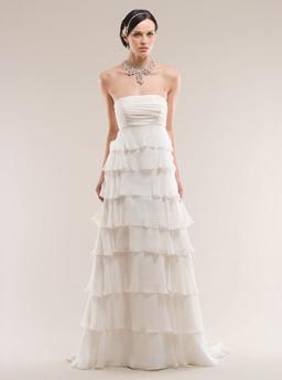 Stunning Kirstie Kelly Wedding Dress Silk Chiffon wedding bridal gown