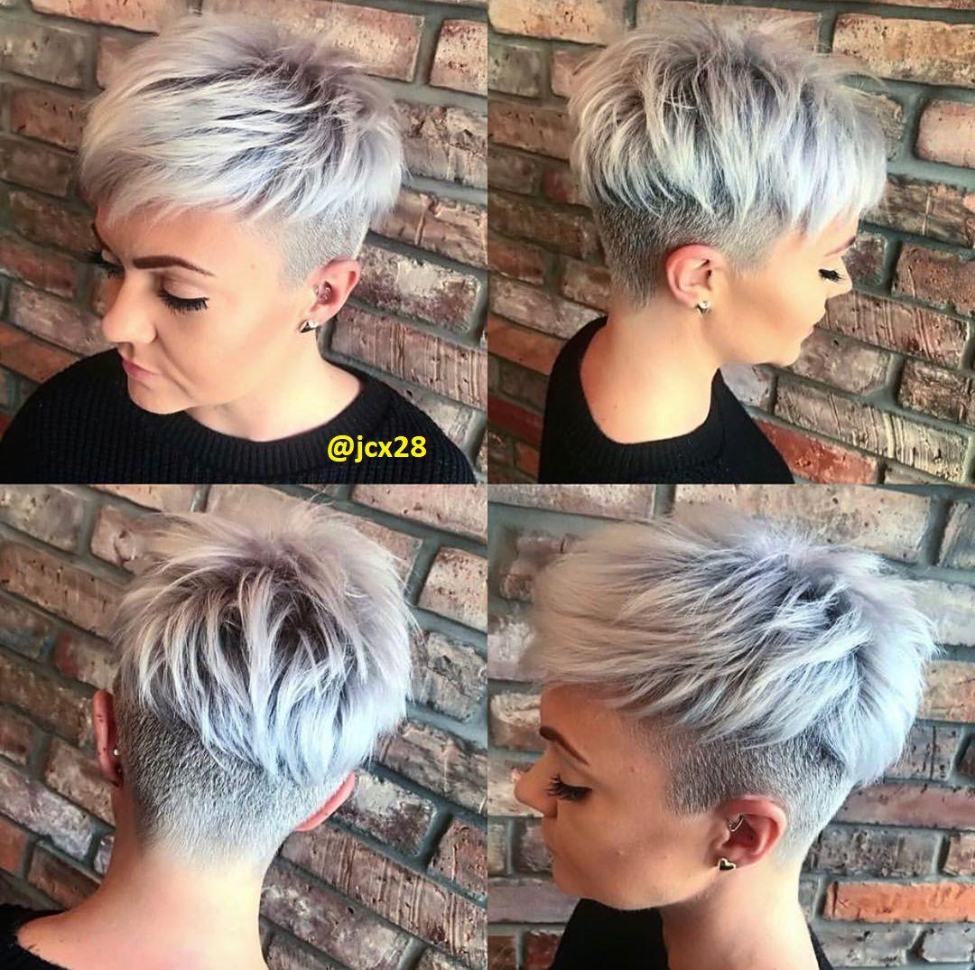 Der Pixie Cut mit Undercut Kurzhaar Frisuren – Frisuren Stil Haar – kurze und lange Frisuren