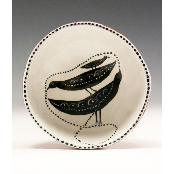 Baby Makes For Three  Ceramic Pinch Bowl by Jenny by jennymendes