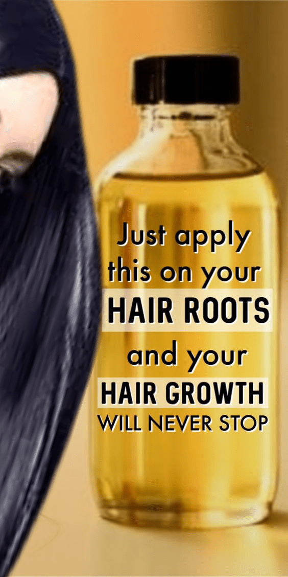 Use This Oil On Your Hair Roots For 1 Week And Your Hair Will Never Stop Growing  Skin Care Tips