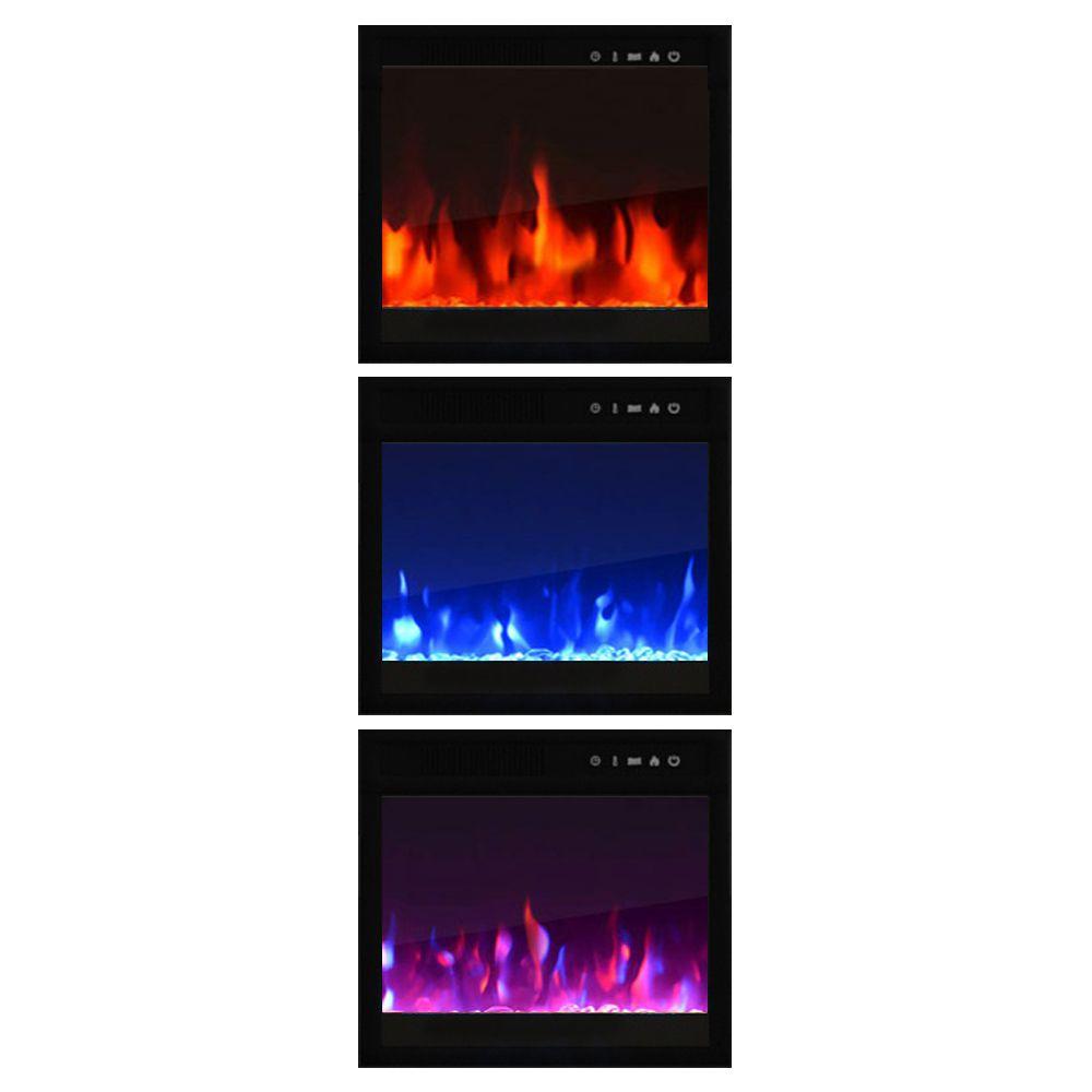 Napoleon Woodland 24 Electric Fireplace Insert Log Set Nefi24h