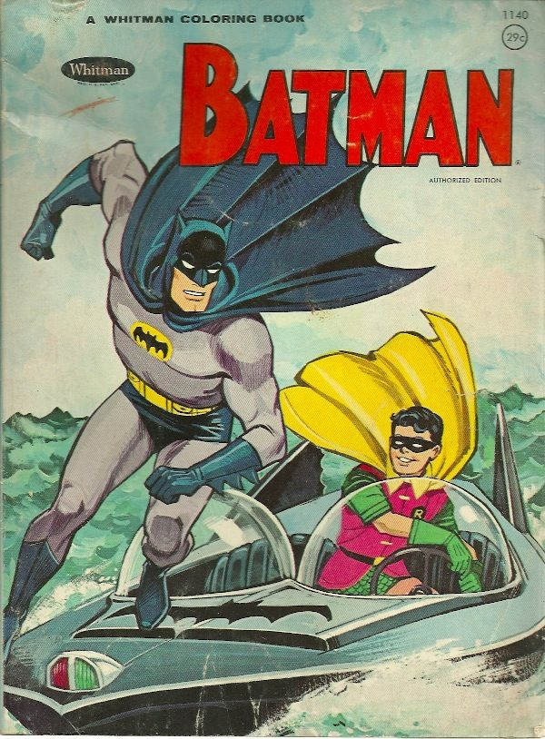 Another Batman Coloring Book from 1966 -67 | Vintage ...