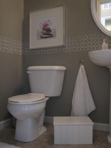 Bathroom Border Paper