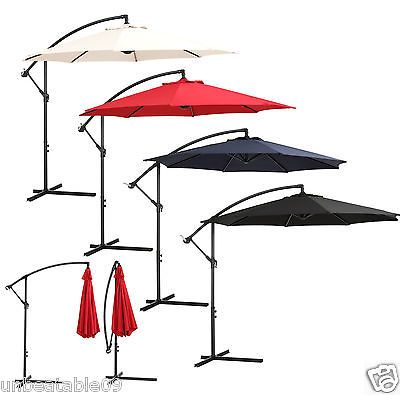 Large garden #parasol #3m3.5m freestanding #patio sun hanging umbrella canopy cov,  View more on the LINK: 	http://www.zeppy.io/product/gb/2/351683630950/