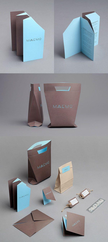 Maaemo designed by Work in Progress for the Norwegian restaurant #identity #packaging #branding PD