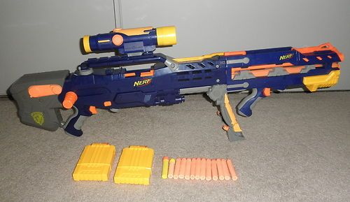 ADAM SAVAGE'S MODIFIED NERF RIFLE IS THE BEST SECRET SANTA GIFT. By. Gun