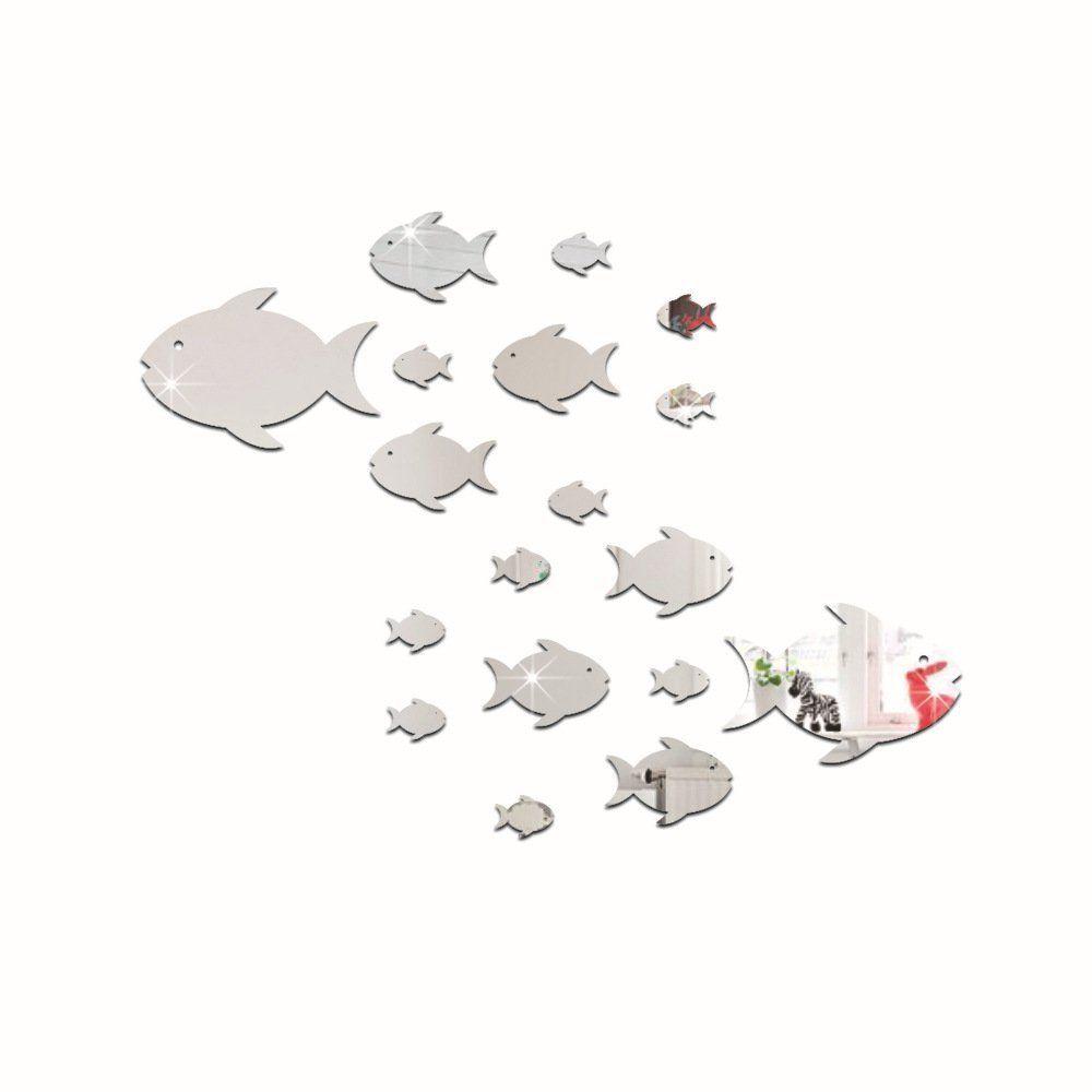 Wandtattoo Wandsticker Wandaufkleber Spiegel Diy 3d Ps Kunststoff Abziehbar Fur Kinderzimmer Diese Wanddekorati Aufkleber Fur Wande Wandaufkleber Wandsticker