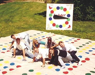 Giant Twister Mat We Must Make A Spinner To Go With Our