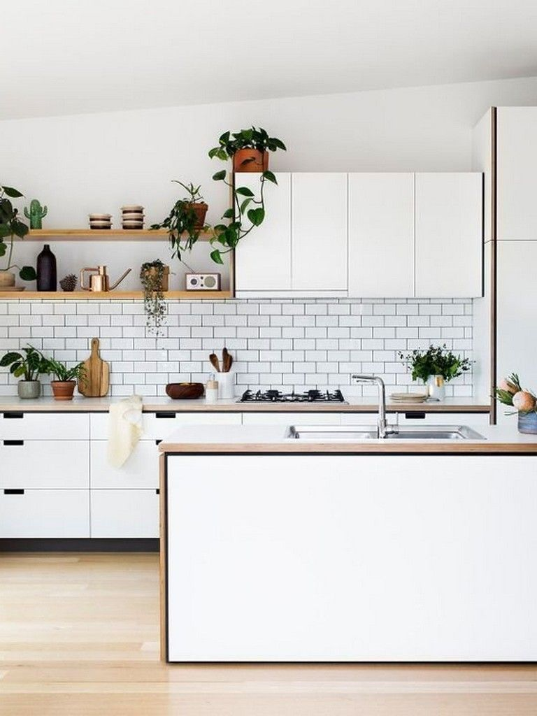 10 Admirable Stylish Black And White Subway Tiles Kitchen Design With Matching Furniture Kitchenide Kitchen Design Kitchen Design Small Modern Kitchen Design