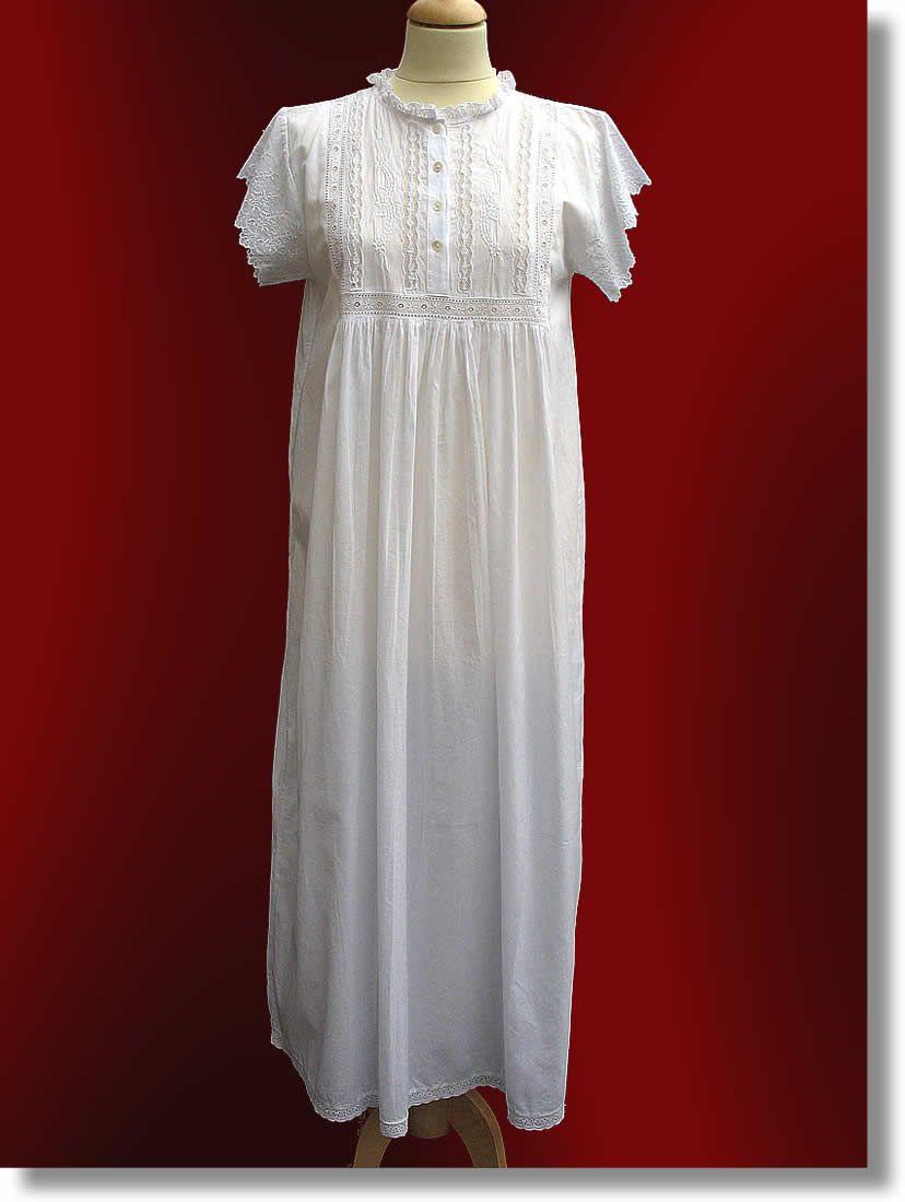 Cheap red and white wedding dresses  Cheap victorian night dress  Wedding dress  Pinterest  Nighties