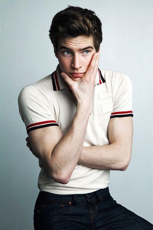 My dream man: Brown hair, blue eyes, perfect fashion style ...