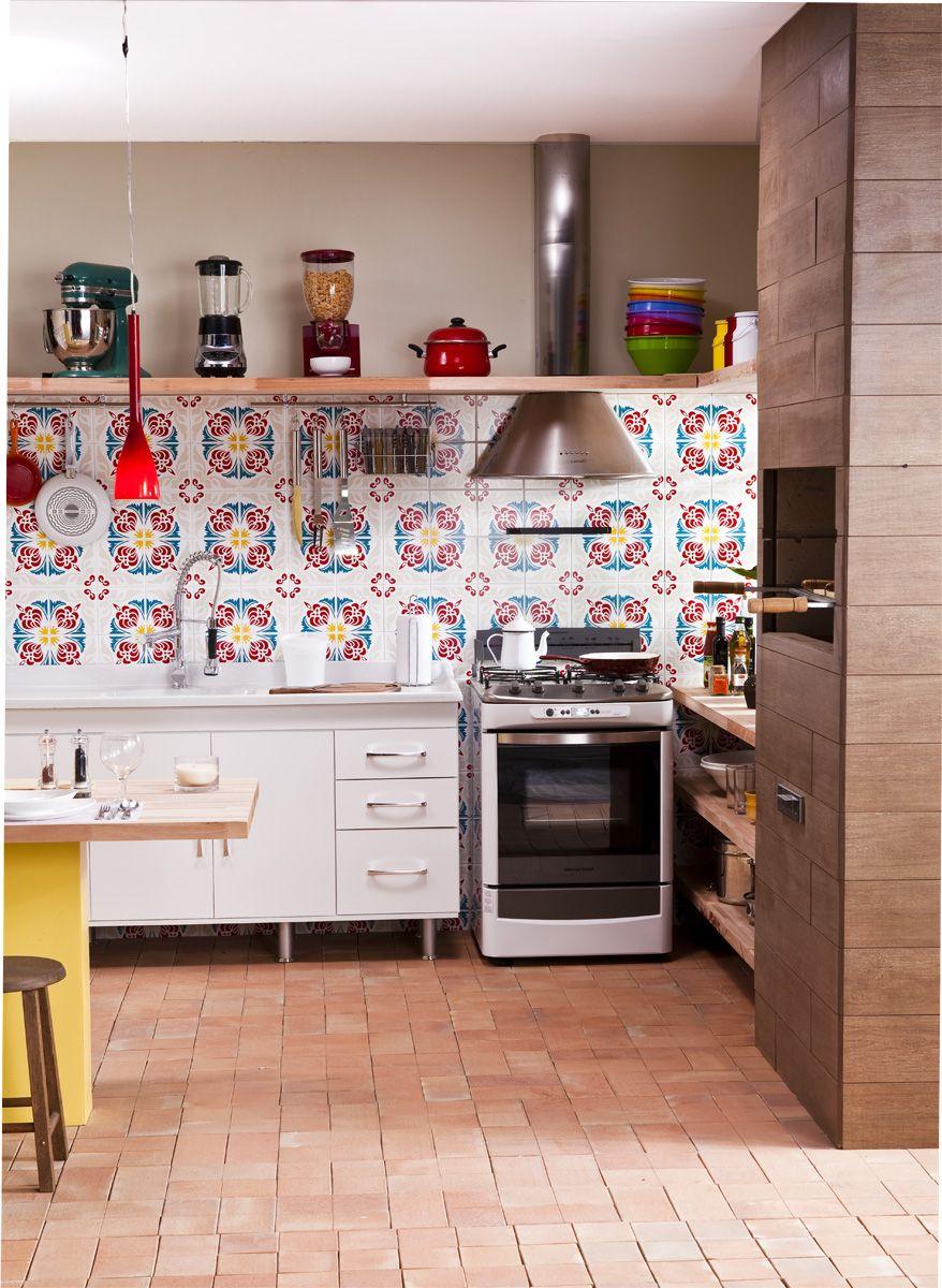 Cozinha Integrada Com Churrasqueira E Lavanderia Pesquisa Google