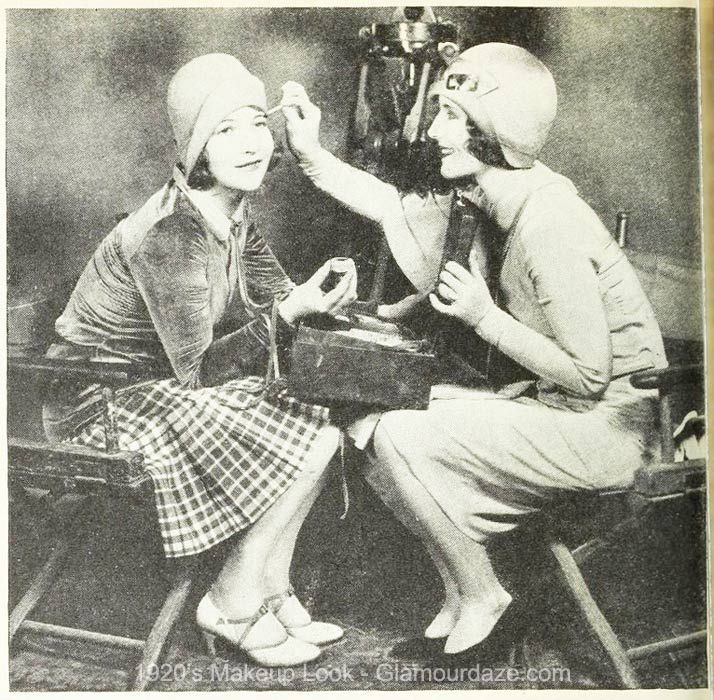 The Fashion Beauty Complex: 1920's Makeup - Hollywood Beauty Tricks