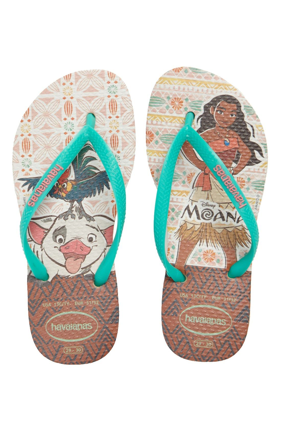 c170dc104bb Havaianas Disney® - Moana Flip Flop (Toddler   Little Kid ...
