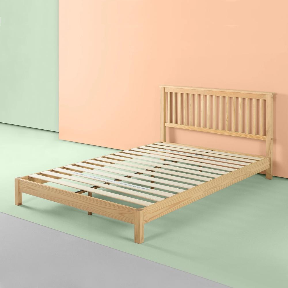 Becky Wood Platform Bed Frame