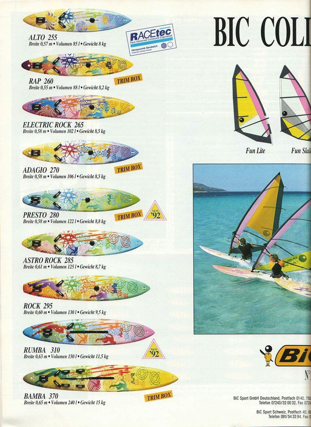 Windsurf Bic Collection Il Mio Astro Rock Planche A Voile Nautisme