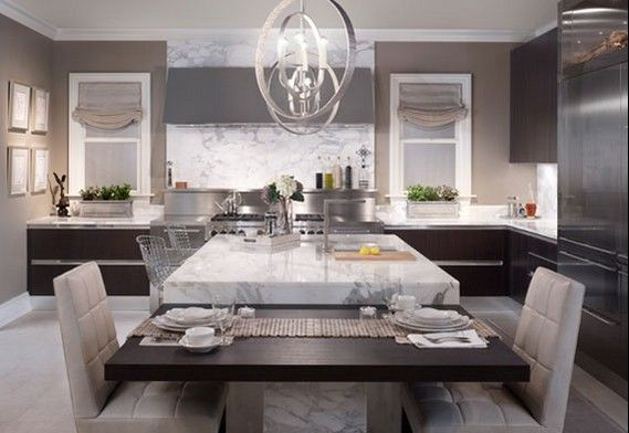 Luxurious Dream Home Interior Design Ideas For Dining And Kitchen Kitchen