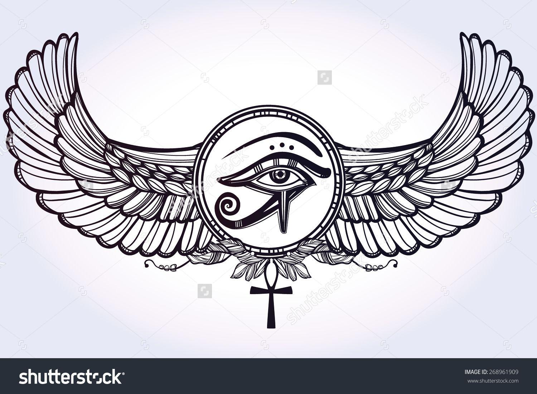 28 Tribal Egyptian Symbol Tattoo Designs Tattoos