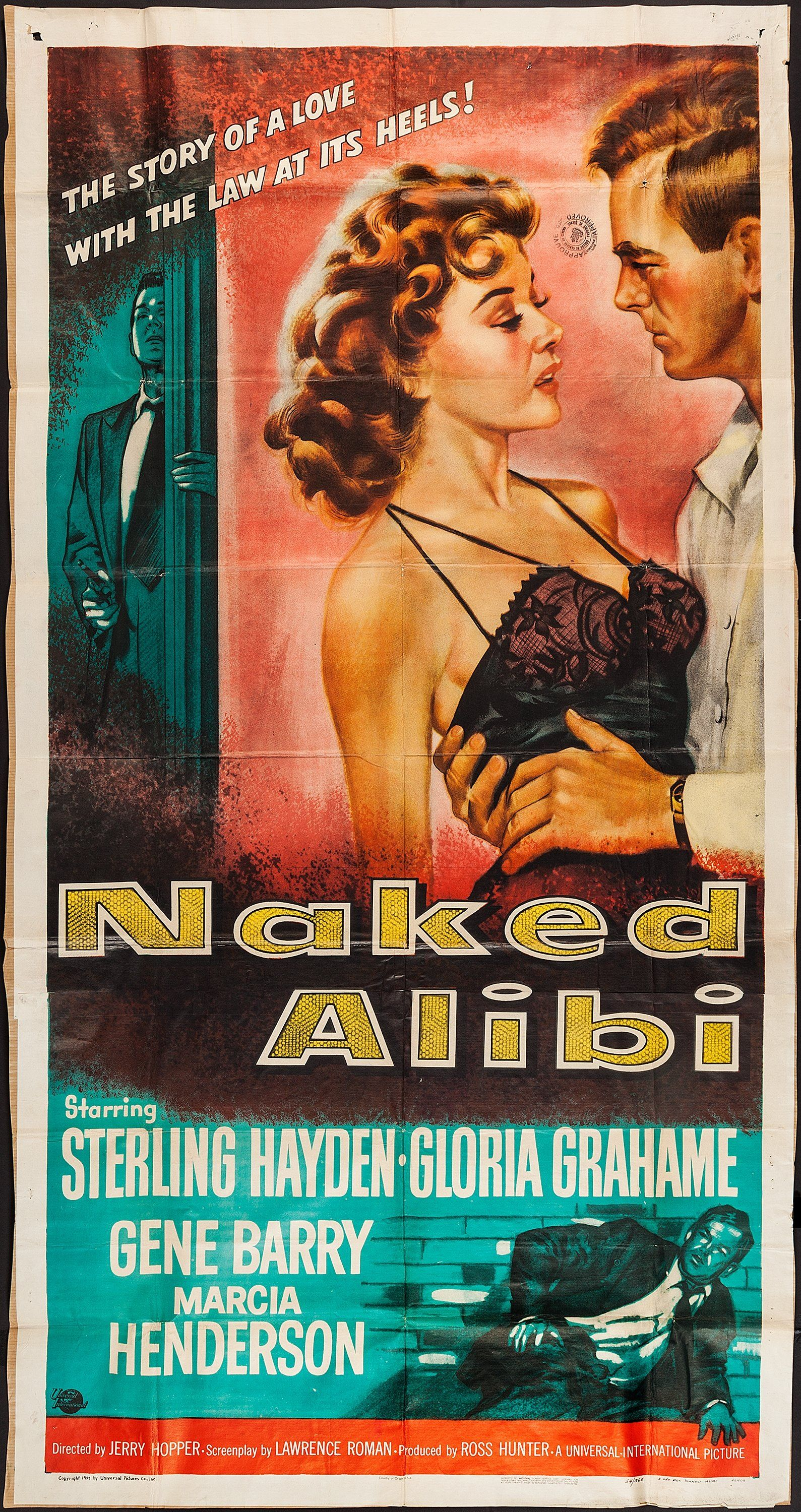 Image result for naked alibi poster 1942