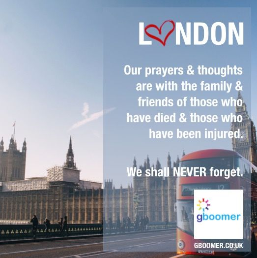 Our thoughts and prayers are with London.