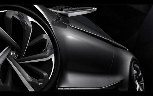 2014 Divine DS Concept - Details. (via 2014 Divine DS Concept - Details - 5 - 1280x800 - Wallpaper) More cars here http://rhubarbes.tumblr.com/search/cars