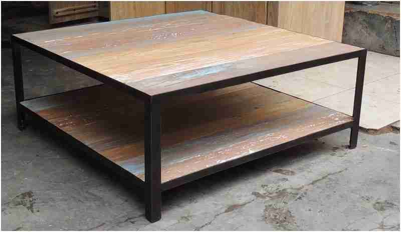 Table Basse Bois Et Fer Forge Nouveau Table Basse Fer Bois Table Salon En Bois Table Basse Bois Table Basse Fer Salon En Bois