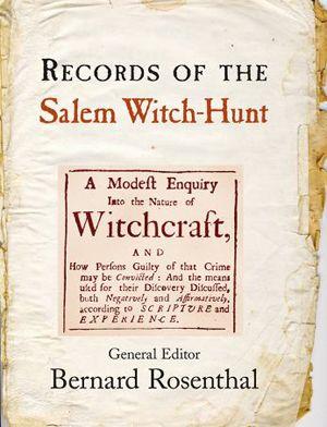 Salem witchcraft trials research paper