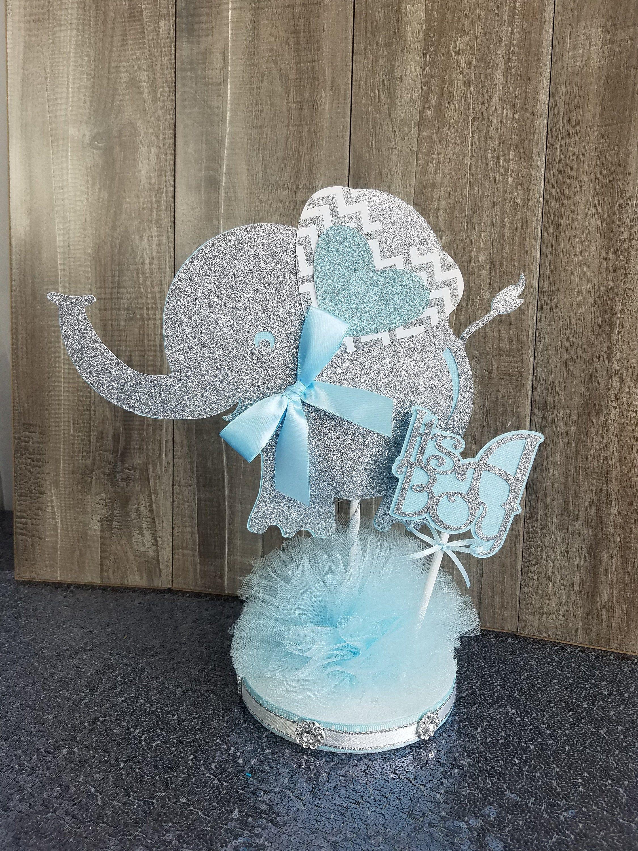 Centros De Mesa Baby Shower Niño Elefante : centros, shower, niño, elefante, Decoraciones, Shower, Niños
