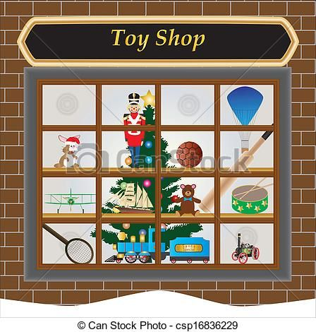 Clip Art Toy Shop