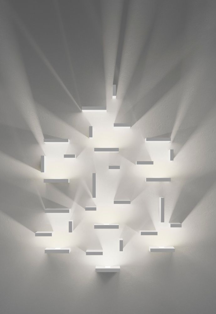 Wall light installation by Vibia | Design | Pinterest | Minimal ...