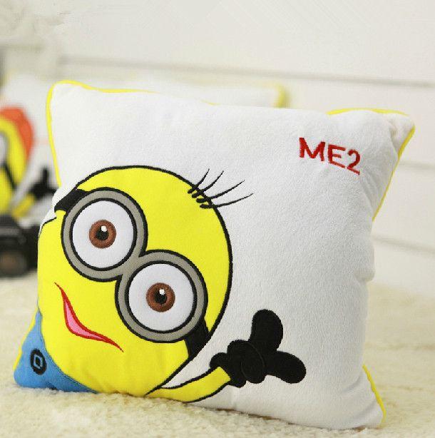 cartoon pillow despicable me 2 minion thoss pillow
