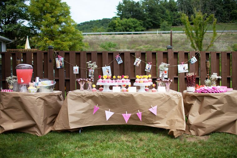 Marvelous Outdoor Bridal Shower Decoration Ideas Part - 13: Backyard Decoration Ideas For Bridal Shower This Summer - Beauty Of Wedding