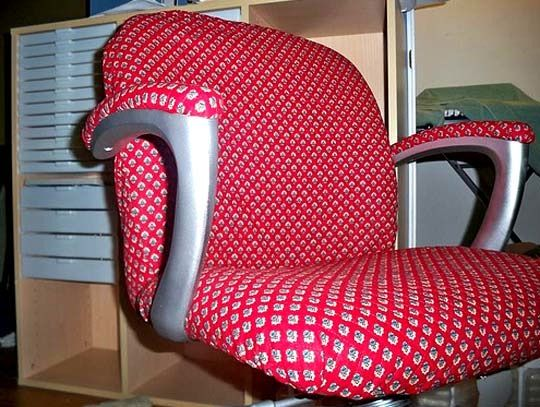 How To: Reupholster An Office Chair
