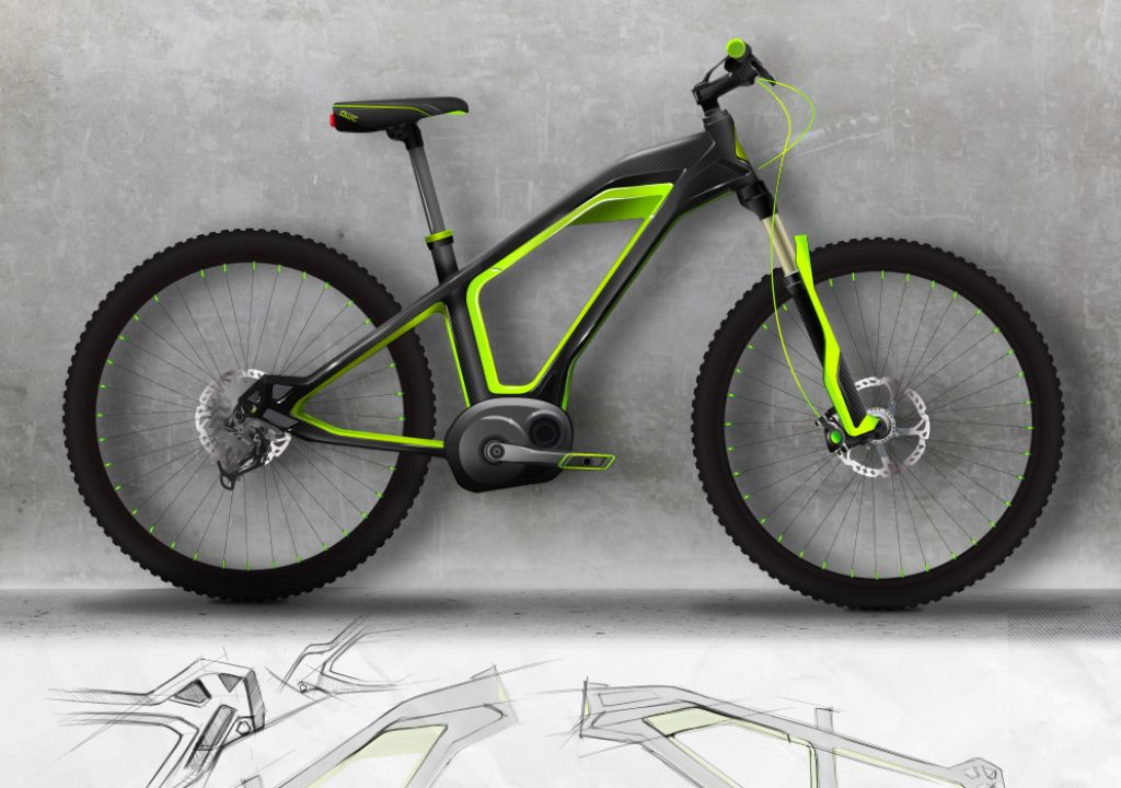 E Tron Bike Project By Paradox Design On Behance