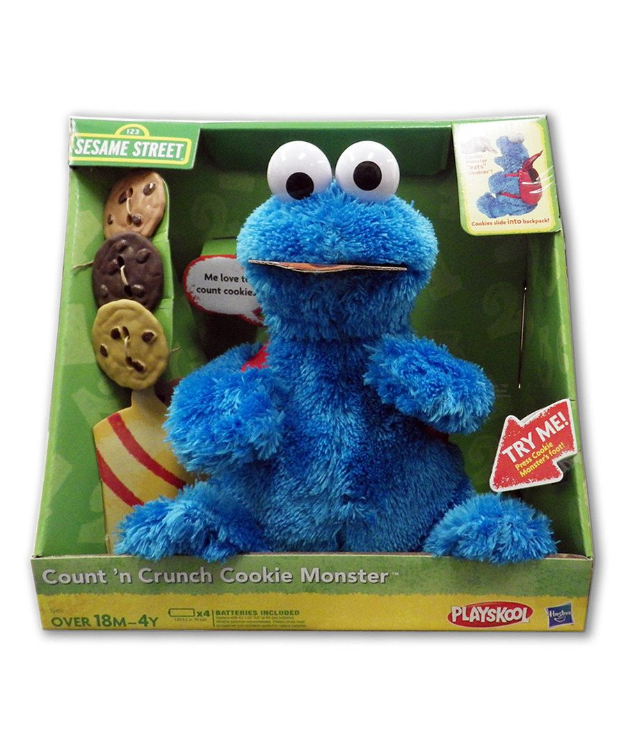 Look At This Sesame Street Countin Crunch Cookie Monster