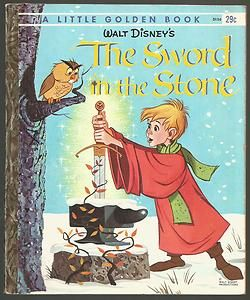 Vintage Little Golden Book The Sword in The Stone 1st Ed | eBay
